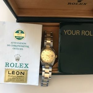 Rolex Accessories - Rolex 31mm Two Tone Stainless Steel & Yellow Gold